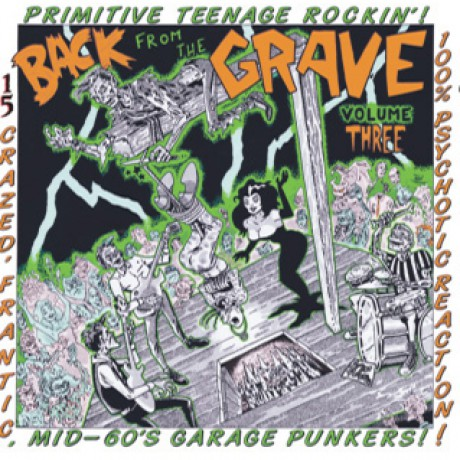 BACK FROM THE GRAVE Volume 3 LP