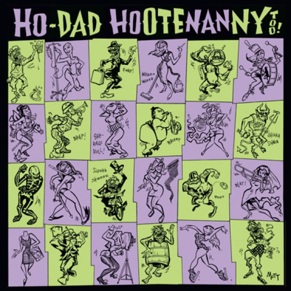 HO-DAD HOOTENANNY VOLUME 2 Double LP