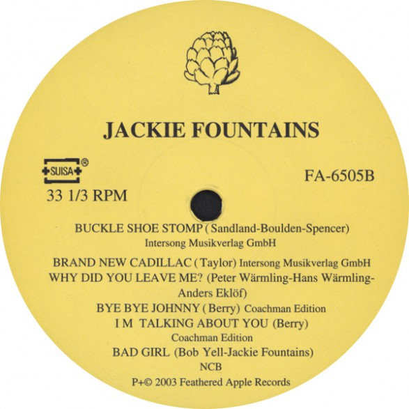 Jackie Fountains You Better Look Around Lets Make A Love