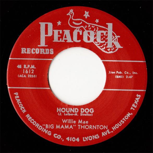 """BIG MAMA THORNTON """"Hound Dog / Rock A Bye Baby"""" 7"""""""
