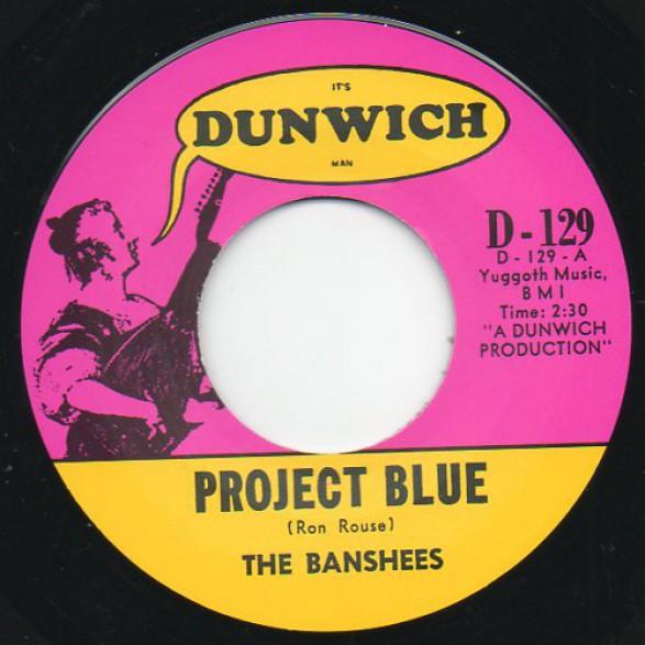 "BANSHEES ""PROJECT BLUE / FREE"" 7"""