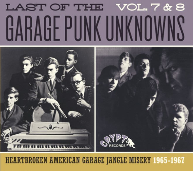 LAST OF THE GARAGE PUNK UNKNOWNS 7 + 8 CD