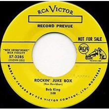 "BOB KING ""Rockin' Juke Box/Party Hop"" 7"""