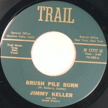 "JIMMY KELLER ""Brush Pile Burn / Matador"" 7"""