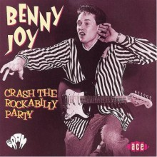 "BENNY JOY ""CRASH THE ROCKABILLY PARTY"" cd"