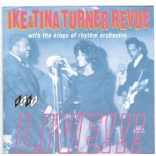 "IKE & TINA TURNER REVUE  ""LIVE!!!"" cd"