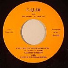 "AUSTIN WRIGHT :KEEP ME ON YOUR MIND IN '59/ WHERE WHEN & HOWCOME CHA-CHA"" 7"""