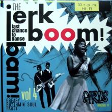"""JERK BOOM! BAM! """"Volume 4"""" LP"""