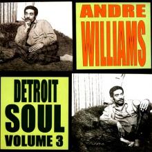 """ANDRE WILLIAMS """"DETROIT SOUL VOL 3"""" LP"""
