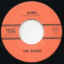 "BARDS ""ALIBIS / THANKS A LOT BABY"" 7"""