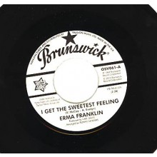 "Erma Franklin ""I Get The Sweetest Feeling"" / Laverne Baker ""I'm The One To Do It"" 7"""