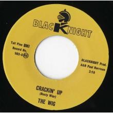 """WIG """"CRACKIN' UP / BLUESCENE"""" 7"""""""