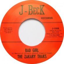 """ZAKARY THAKS """"BAD GIRL / I NEED YOU"""" 7"""""""