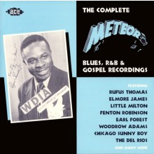 "COMPLETE METEOR BLUES,R&B & GOSPEL RECORDINGS"" CD"