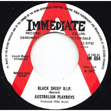 "AUSTRALIAN PLAYBOYS ""SAD/BLACK SHEEP RIP"" 7"""