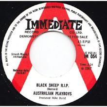 "AUSTRALIAN PLAYBOYS ""SAD/BLACK SHEEP RIP"" 7"""