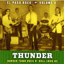 "EL PASO ROCK ""Volume 4: Thunder"" LP"