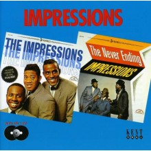 "IMPRESSIONS ""IMPRESSIONS/NEVER ENDING IMPRESSIONS"" CD"