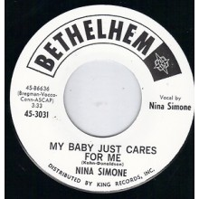 """NINA SIMONE """"MY BABY JUST CARES FOR ME"""" 7"""""""