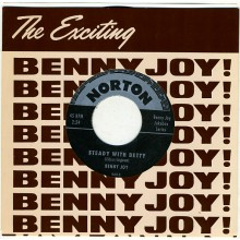 "BENNY JOY ""MISS BOBBY SOX/STEADY WITH BETTY"" 7"""