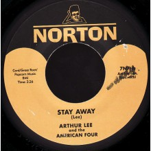 "Arthur Lee & The American Four/Arthur Lee & Grass Roots ""Stay Away/You I'll Be Following"" 7"""