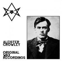 "ALEISTER CROWLEY ""Original Wax Recordings"" LP"