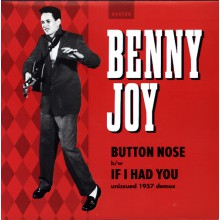 "BENNY JOY ""BUTTON NOSE/ IF I HAD YOU"" 7"""