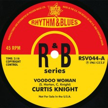 "CURTIS KNIGHT ""Voodoo Woman""/ JOHNNY DARROW ""Love Is A Nightmare"" 7"""