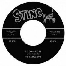 "CARNATIONS ""Scorpion / Casual"" 7"""