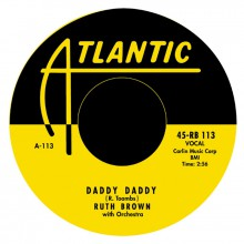 """RUTH BROWN """"Daddy Daddy / I Would If I Could"""" 7"""""""