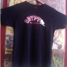 CRYPT T-Shirt - Men - Navy blue