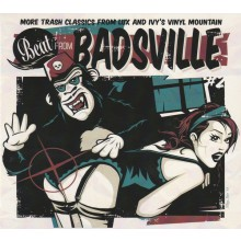 "BEAT FROM BADSVILLE ""Trash Classics From Lux And Ivy's Vinyl Mountain Volume 2"" CD"