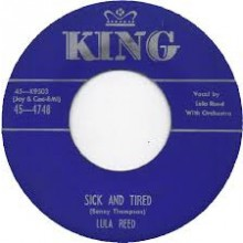 "LULA REED ""SICK & TIRED / ROCK LOVE"" 7"""