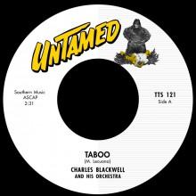 """CHARLES BLACKWELL """"Taboo"""" 7"""""""