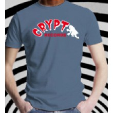 CRYPT T-Shirt - Denim blue