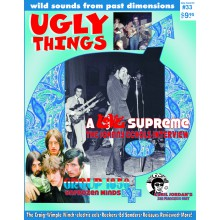 UGLY THINGS Isue #33 Mag