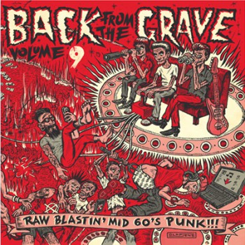 BACK FROM THE GRAVE VOLUME 9 GATEFOLD LP