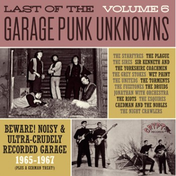 LAST OF THE GARAGE PUNK UNKNOWNS 6 LP