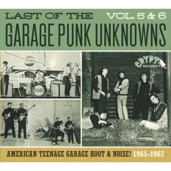 LAST OF THE GARAGE PUNK UNKNOWNS 5 + 6 CD
