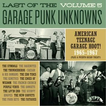 LAST OF THE GARAGE PUNK UNKNOWNS 5 LP