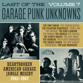 LAST OF THE GARAGE PUNK UNKNOWNS 7 LP