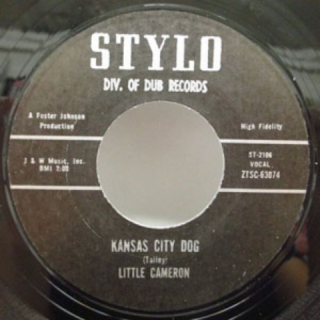 "LITTLE CAMERON ""KANSAS CITY DOG / SHE'S LEAVING"" 7"""
