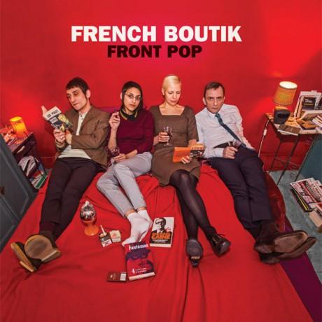 "FRENCH BOUTIK ""Front Pop"" LP"