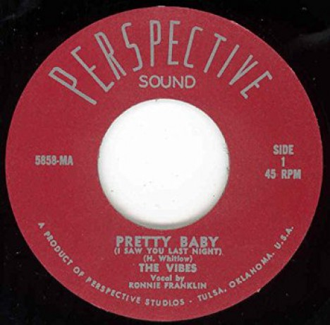"Vibes ""Pretty Baby (I Saw You Last Night)/Crying For You"" 7"""