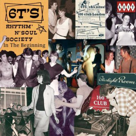 6T's RHYTHM & SOUL SOCIETY - IN THE BEGINNING CD
