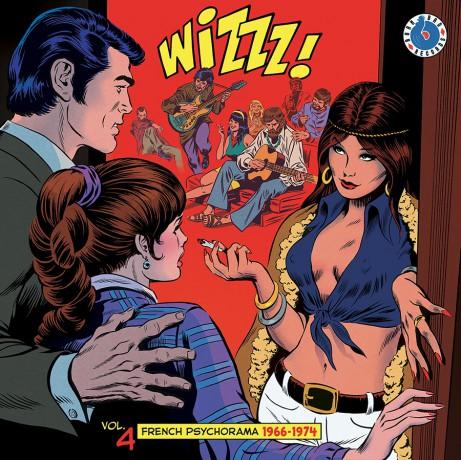 WIZZZ! Volume 4: French Psychorama 1966-1974 LP