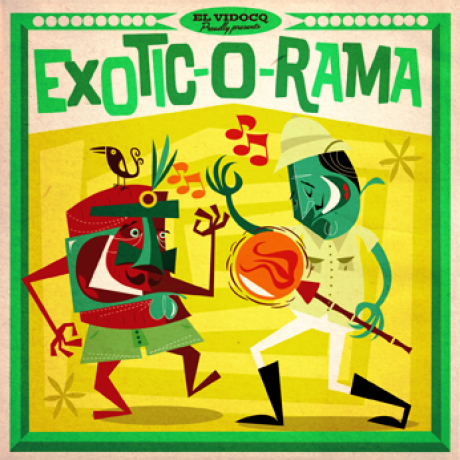 EXOTIC-O-RAMA LP+CD