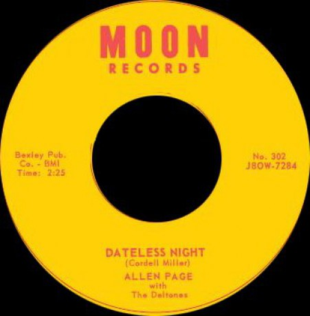 """ALLEN PAGE """"SHE'S THE ONE THAT'S GOT IT / SUGAR TREE"""" 7"""""""
