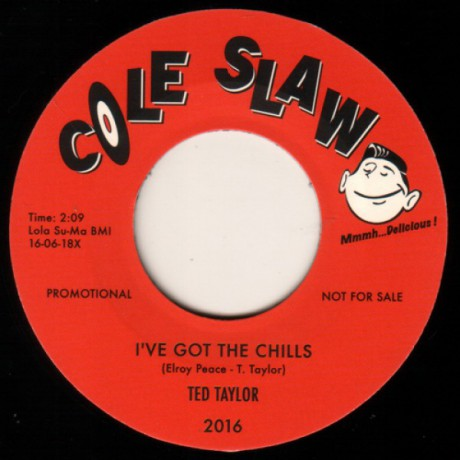 "TED TAYLOR ""I've Got The Chills"" / THE CLOVERS ""The Sheik"" 7"""