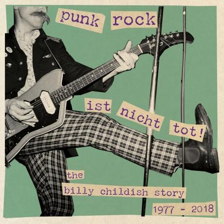 """BILLY CHILDISH """"PUNK ROCK IST NICHT TOT"""" Triple LP"""